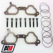 Subaru Impreza P1 STi WRX  V5+ 10mm O Ring Design Thermal Inlet Manifold Spacers